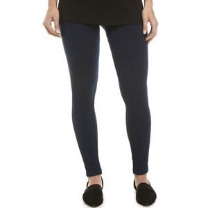 New Directions Cable Fleece Lined Petite Leggings